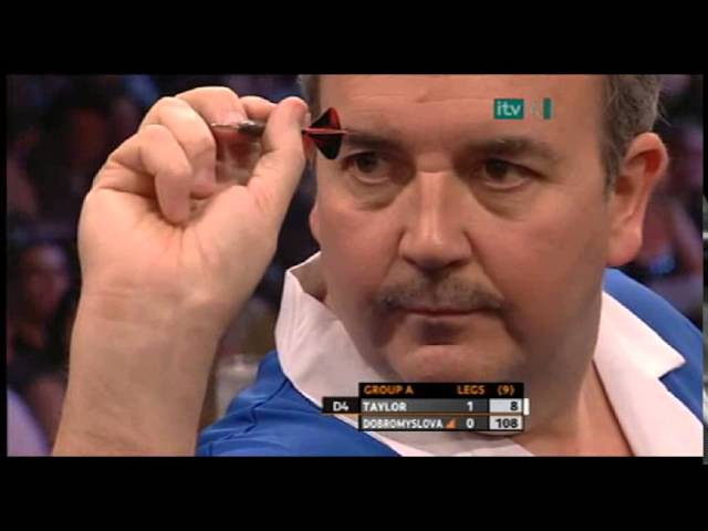 2009 Grand Slam of Darts Taylor vs Dobromyslova