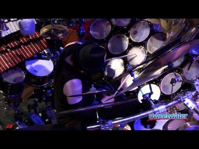 Terry Bozzio Drum Solo Performance - pat's changes