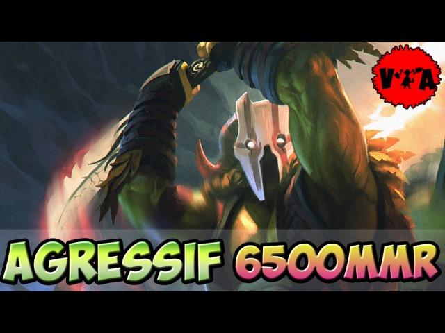 Agressif 6500 MMR Plays Juggernaut