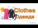 Одежда на английском языке English Vocabulary Clothes