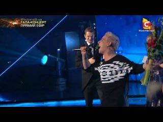 Костя Бочаров - Победитель шестого сезона -  'In The Shadows' (The Rasmus) Х-фактор-6