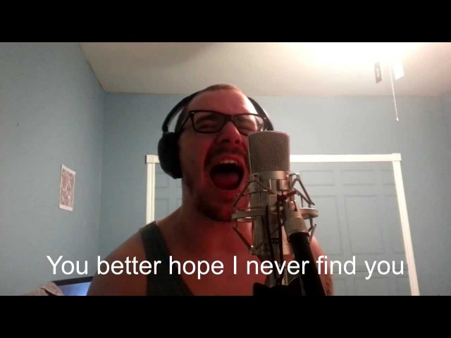 Attila - Backtalk vocal cover