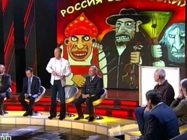 М.Задорнов, В.Чудинов в передаче на НТВ.