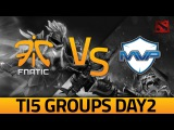 Dota 2 - TI5: Fnatic vs MVP Phoenix Highlights (Day 2)