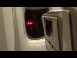Видео из горящего самолета в Доминикане