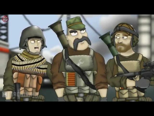 Друзья по Battlefield. Battlefield Friends. 1 сезон HD.