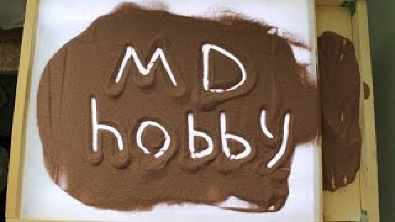 Планшет для рисования песком ( Sand animation , «sand-art» ) своими руками.