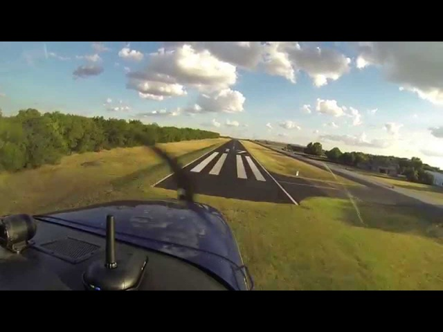 Cessna 172   First Flight with New Paint   ATC Audio