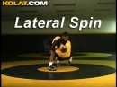 Wrestling Moves Russian to Lateral Spin