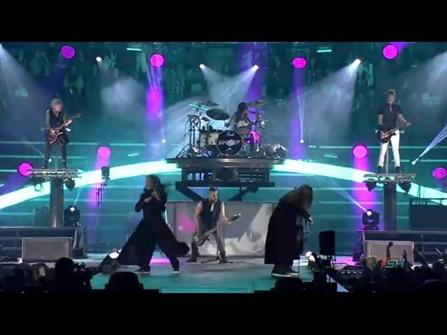 Skillet Awake And Alive Live Winterjam 2015 HD