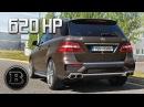 Brabus Mercedes-Benz ML63 AMG B63 - brutal sound, revs, acceleration, ride, walkaround...