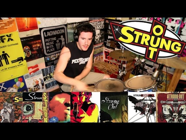 Strung Out: A 5 Minute Drum Chronology - Kye Smith [HD]