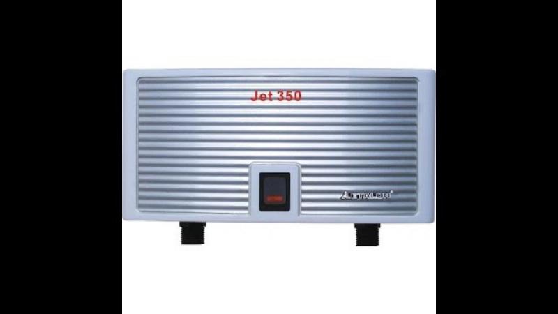 Обзор и установка проточного водонагревателя Etalon Jet 350