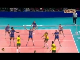 Italy vs Brazil. FIVB Volleyball Women_s World Championship 2014 - 360P
