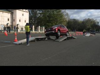 Тест-драйв SUV от «Мерседес-Бенц»