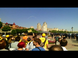 Гей-прайд - Марш Равенства - Киев, 6.6.2015 - момент нападения