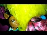 Новый год Монстер Хай третья  серия сумасшедшая Туса видео сделано с моей лучшей подругой алиса м