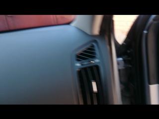 Проведение кабеля регистратора. Kia ceed 2008