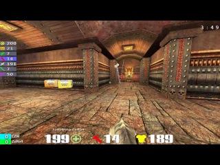 QuakeCon 2004 Grand Final: CZM vs ZeRo4 - Map2 Quake 3 Arena Duel - [English casting]