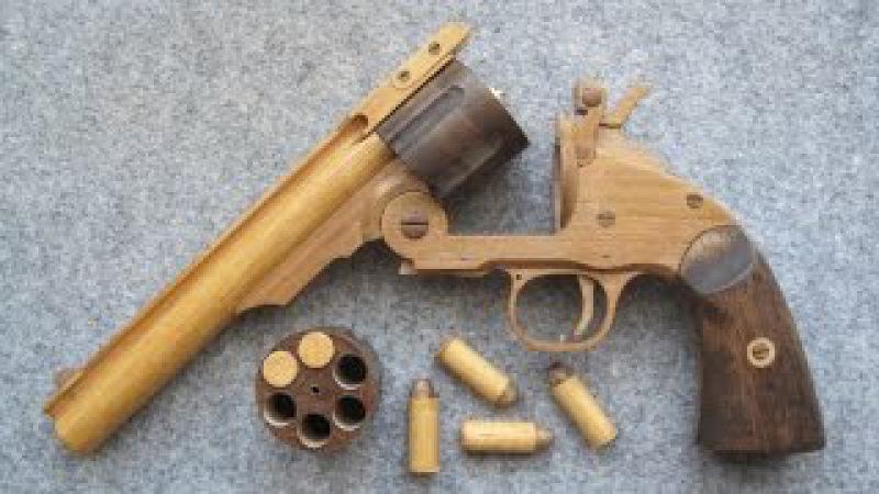REV◎LVER RUBBER BAND GUN 01.0 SW M3 top break reload