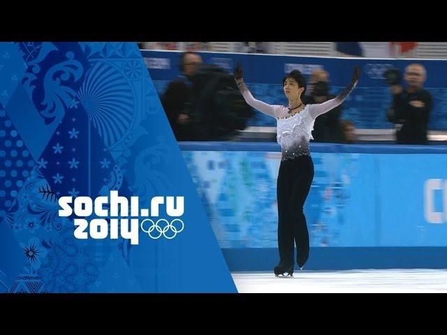 Yuzuru Hanyu's Gold Medal Winning Performance - Men's Figure Skating   Sochi 2014 Winter Olympics