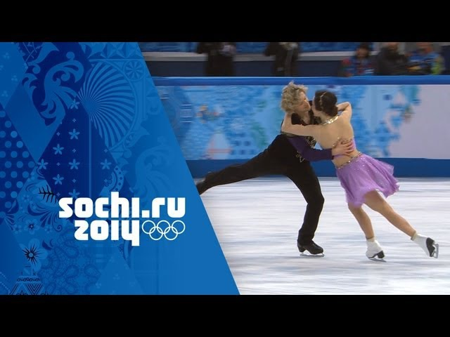 Meryl Davis Charlie White Full Free Dance Performance Wins Gold | Sochi 2014 Winter Olympics