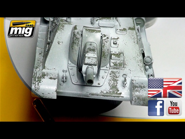 WINTER CAMOUFLAGE WITH CHIPPING EFFECTS HOW TO BY MIG JIMENEZ