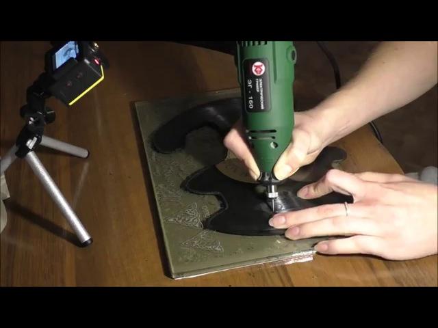 Превращаем виниловую пластинку в элемент декора