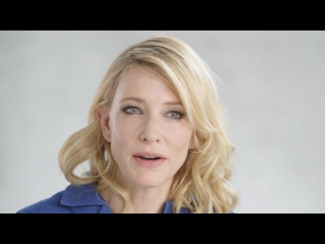 "Cate Blanchett on the Female Gaze In ""Carol"""