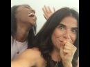 Карла и Аджа на съемка второго сезона