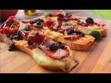 Somun Pica - Crostini Recipe - Bruschetta