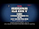 Watch TNA Bound For Glory Live! on Pay-Per-View Sunday, October 4, 8e5p