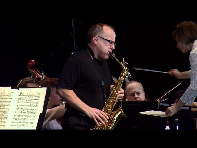 GLAZUNOV Concerto for Alto Saxophone and String Orchestra with Joseph Lulloff, saxophone