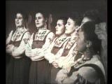Омский народный хор Погас закат над Иртышом