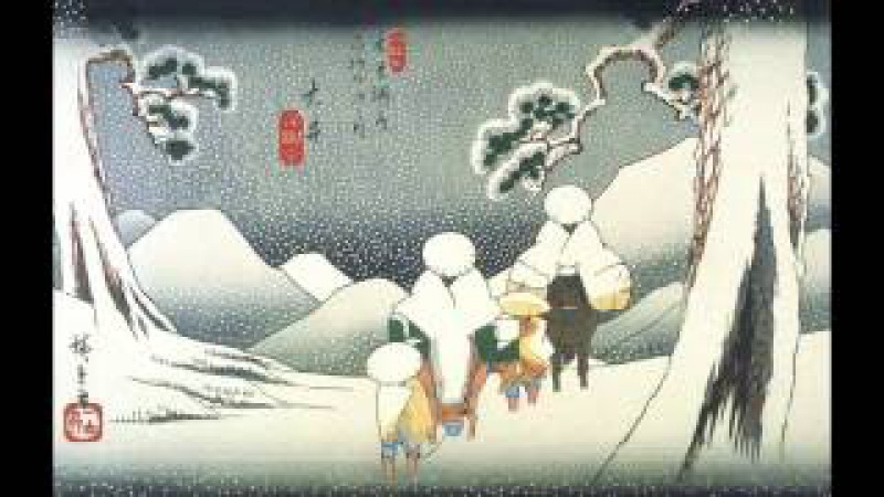 SnowJapan Relaxing Music,japanese traditional, Background Music,,shamisen,koto,Instrumental.