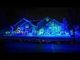 Как простые американцы украшают дома к Рождеству.