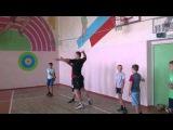 Волейбол. Тренировка нападающего удара для начинающих. Занятие 1