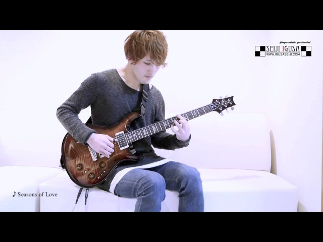 Seiji Igusa [Seasons of Love] Solo Fingerstyle Guitar (PRS P22)