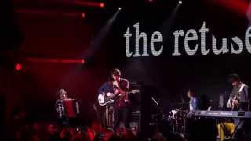 The Retuses - Пой же пой. На проклятой гитаре (Live, 27.09.2014, Зеленый театр, Киев)