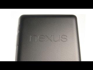 Видео обзор планшета ASUS Google Nexus 7