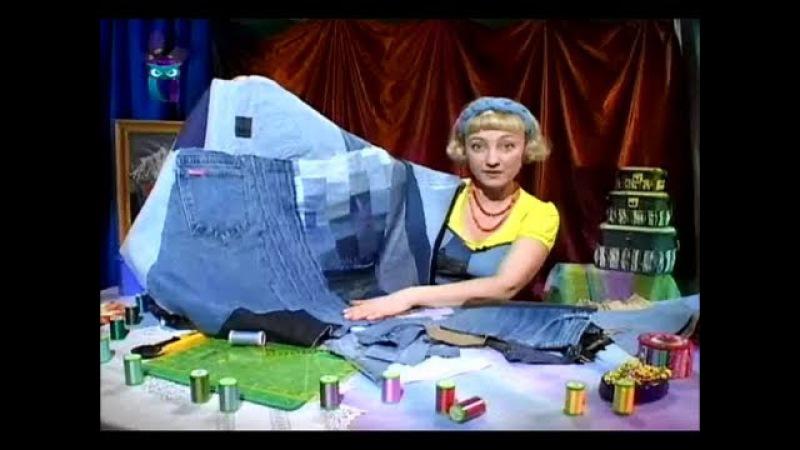 Шьем текстильные изделия, используя в качестве орнамента - карманы. Мастер класс. Татьяна Лазарева