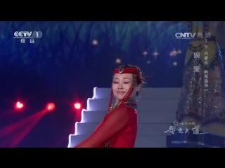 Монгольский танец с чашами