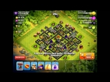 Clash of Clans! 55 Balloons lvl 6 + Heroes!