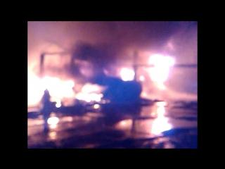 Пожар в Торфяном переулке