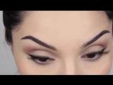 Красивый макияж в стиле Кайли Дженнер. Уроки макияжа. Макияж для брюнеток