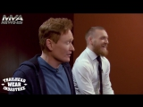 Конор Макгрегор играет в UFC 2 на шоу Конана О'Брайана