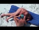 bh_12673. На пляже. Подглядывание. Нудисты. На море. Пара. Скрытая камера. Любительское