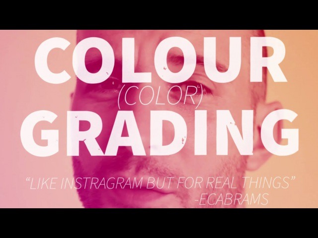 Cross Process Colour (color) Grading - Adobe After Effects tutorial