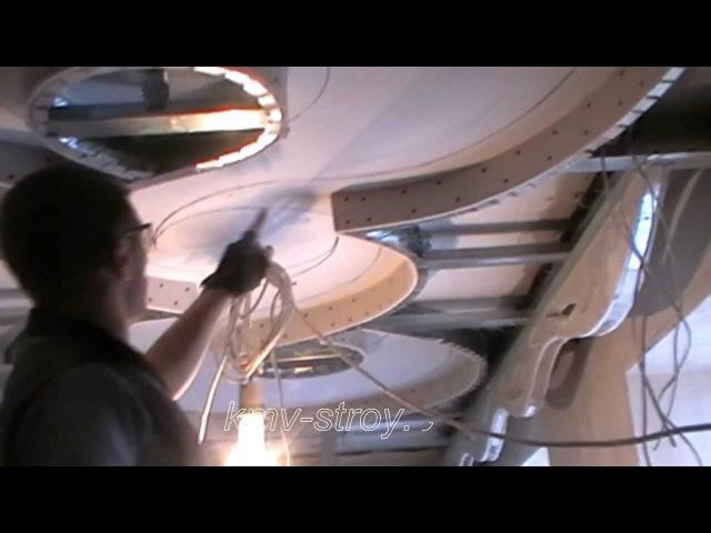 как собрать потолок 2 уровня infinity how to assemble a ceiling level of 2 infinity