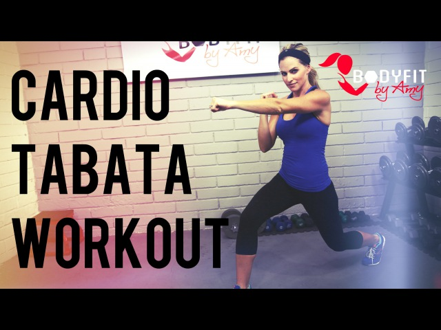 30 Minute Cardio Tabata Workout to Burn Calories and Blast Fat